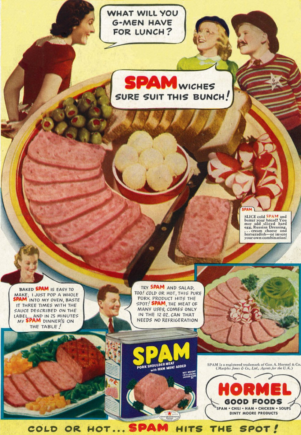 How Spam Went from Canned Necessity to American Icon