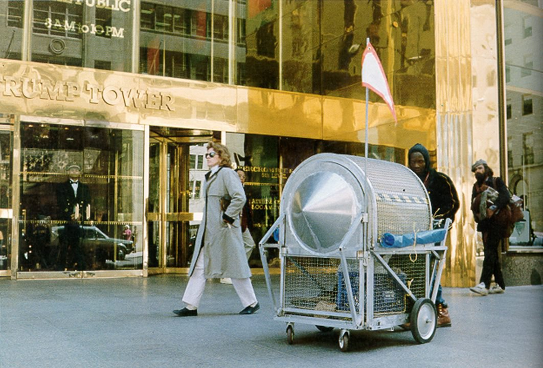 How an Exquisitely Designed Cart for Homeless People Inspired a Wave of Artists' Activism
