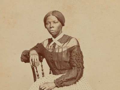 The Emily Howland photo album containing the portrait of Tubman, (above: detail, ca. 1868) was unveiled this week at the Smithsonian's National Museum of African American History and Culture.