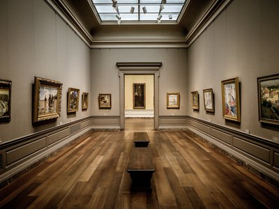 Researchers found that white individuals represented 97 percent of artists featured in the National Gallery of Art's permanent collection