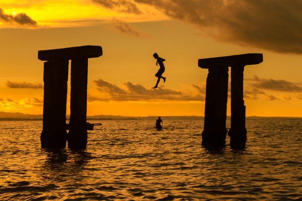 Leap into the sea thumbnail