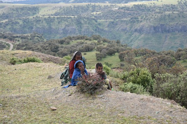 Children in Semien Mountains (Ethiopia) thumbnail