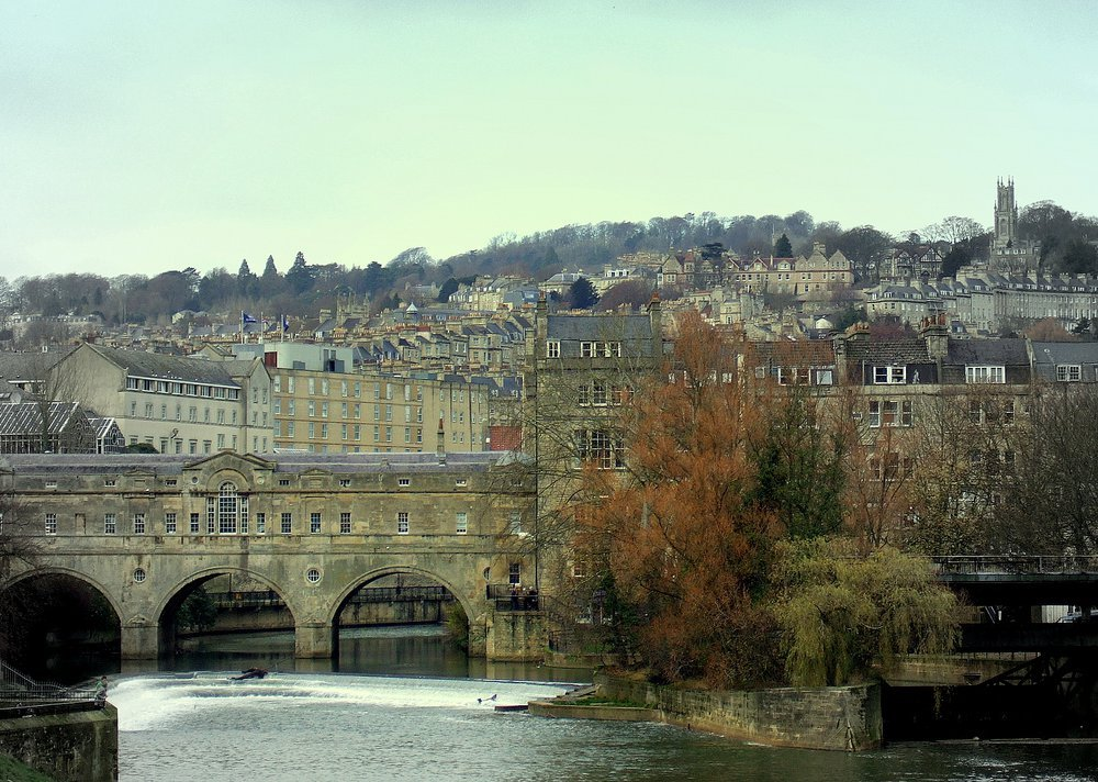 The English city of Bath was one of the top 10 tourist destinations in the 1800's