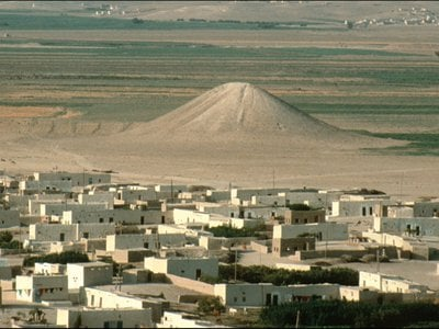 Archaeologists excavated the White Monument, which stood north of the village of Igraya until the area was flooded in the late 1990s.