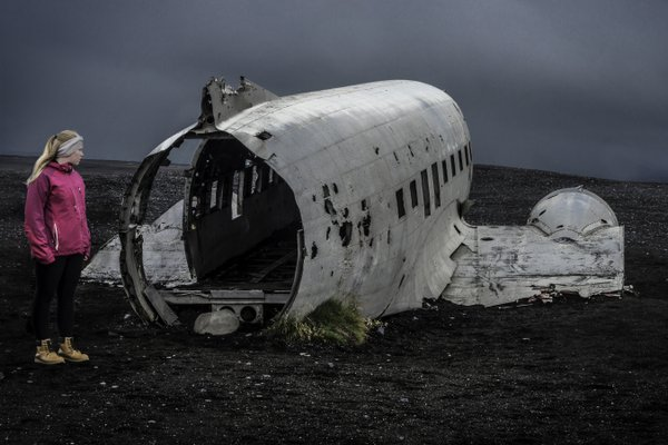 C-47 wreckage, southern Iceland thumbnail