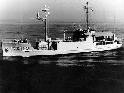 The USS Pueblo.