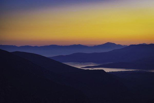 Delphi Sunset, and Ancient View thumbnail