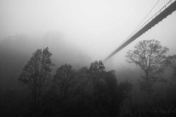 Bridge in the fog thumbnail