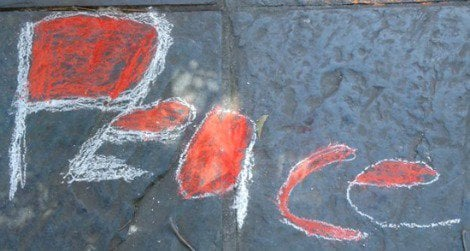 Make sidewalk art with Murals of Baltimore and Chalk4Peace.