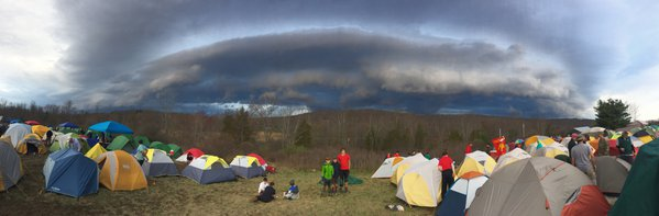 Incoming Storm at the 2018 56th Annual West Point Scoutmasters' Council Camporee thumbnail