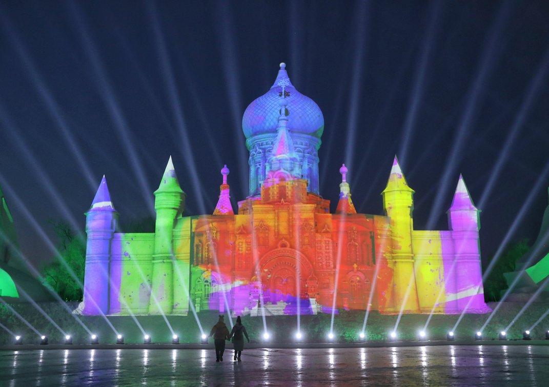 Step Inside Winter's Most Spectacular Wonderland at the Harbin Ice and Snow Festival in Northeast China