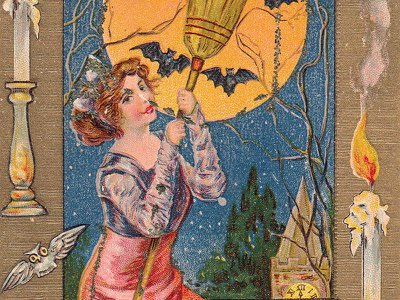 The trope of the beautiful witch was popular between 1905 and 1915.