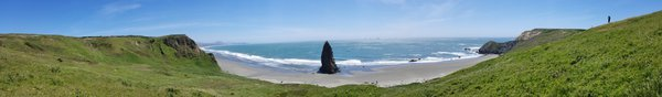 Lone Rock at Cape Blanco State Park, in Oregon thumbnail