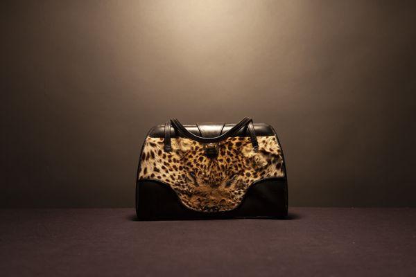 112Z, leopard purse thumbnail