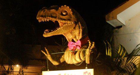 A T-rex in Sri Lanka