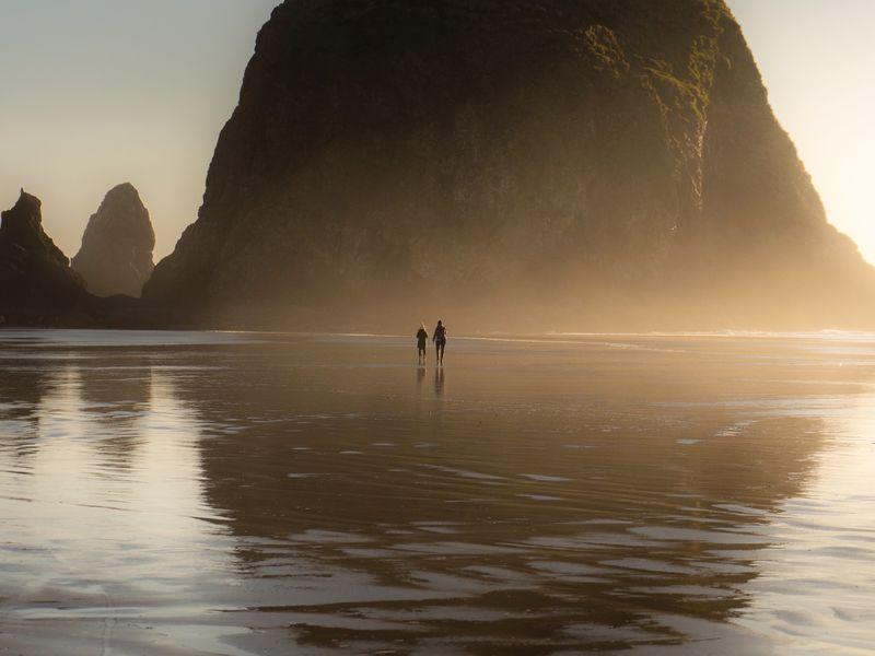 The Massive Scale of the Oregon Coast