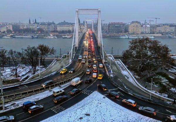 A bridge in Budapest thumbnail