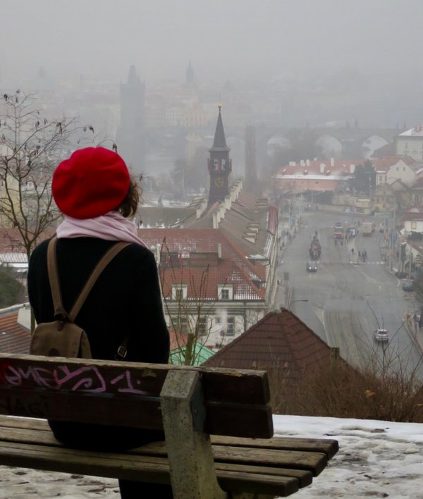Girl in the red beret thumbnail
