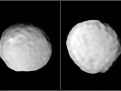 The asteroid Pallas, imaged by the European Southern Observatory's Very Large Telescope