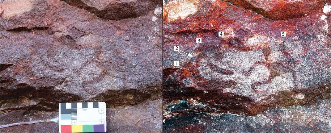 Rare Form of Miniature Stenciled Rock Art Found in Australia