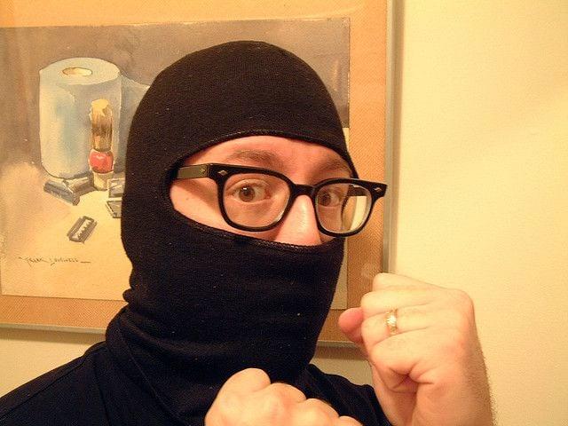 A wanna-be ninja