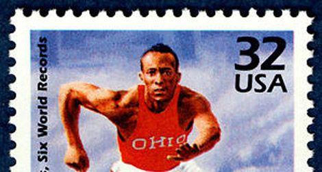 The Jesse Owens stamp