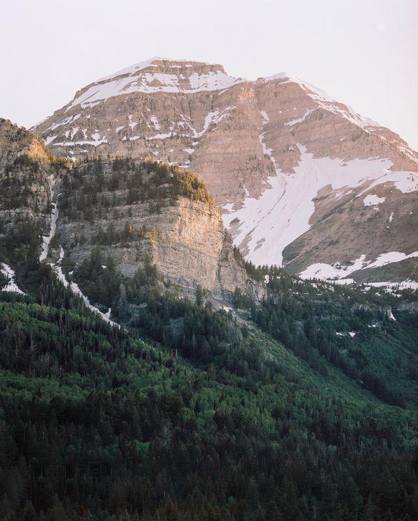 Sunset at Mt. Timpanogos (ON FILM) thumbnail