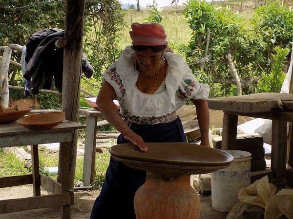 Traditional pottery artisan thumbnail
