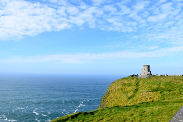 Clear day at the Cliffs of Moher  thumbnail