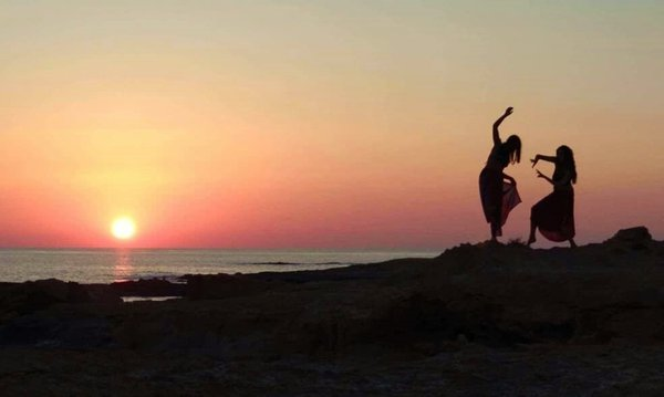 Dancing with the sunset thumbnail