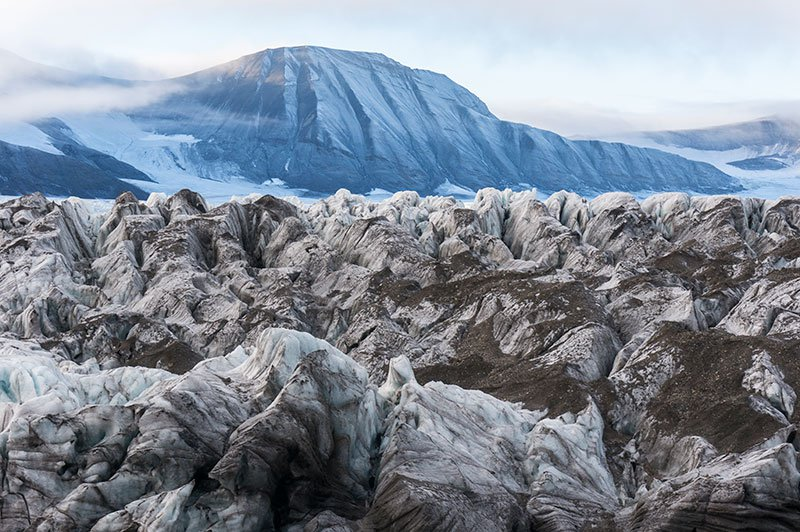 What the Surging Glaciers of Svalbard Tell Us About the Future of Rising Seas