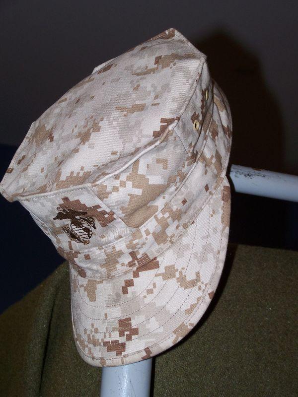 USMC cap thumbnail