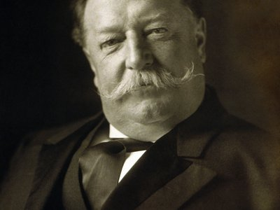 Unattributed photograph of William Howard Taft from 1909
