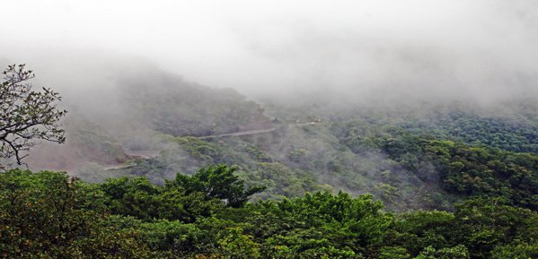 THE MONSOON CLOUDS IN THE WESTERN GHATS-INDIA thumbnail
