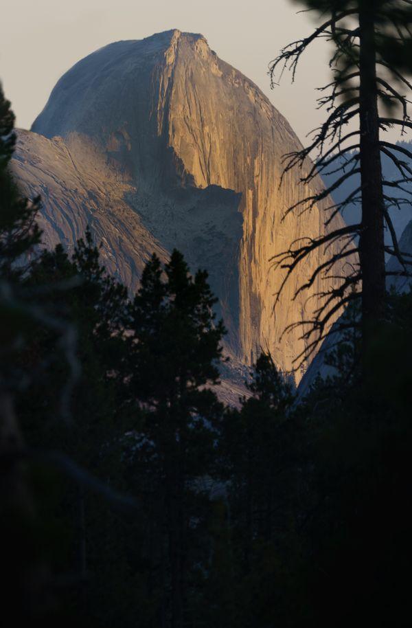 Half Dome, Olmstead Point, Yosemite thumbnail