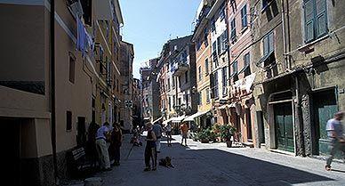Vernazza Italy street