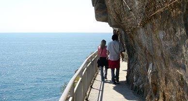 Cinque Terre Via Del Amore Italy