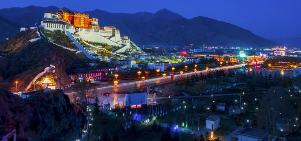 Lhasa is the night thumbnail
