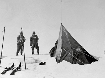 """""""It is splendid to have people who refuse to recognise difficulties,"""" British Capt. Robert Falcon Scott wrote early in the expedition to the South Pole. But they would after they set out from the pole."""