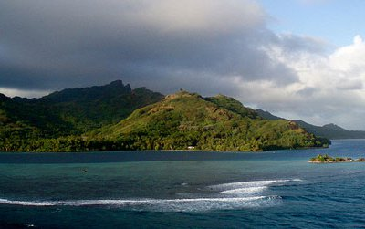 Huahine in the South Pacific