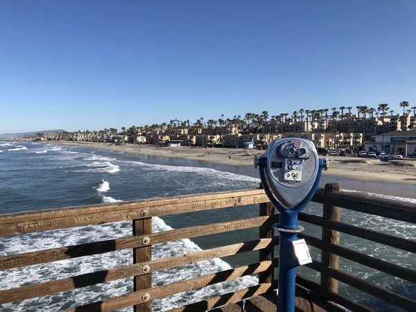 The shoreline at Oceanside, California beckons. thumbnail
