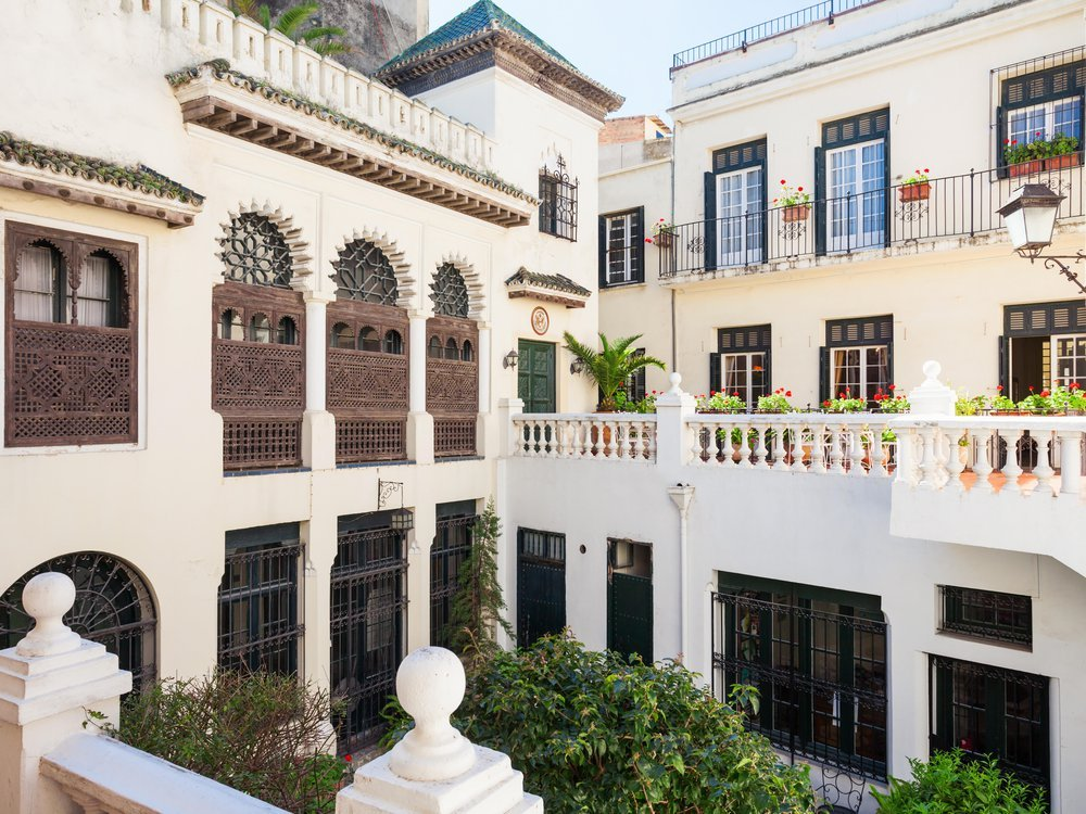 View of the Tangier American Legation in Morocco