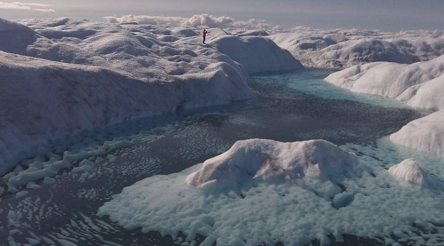 The Tiny World of Glacier Microbes Has an Outsized Impact on Global Climate