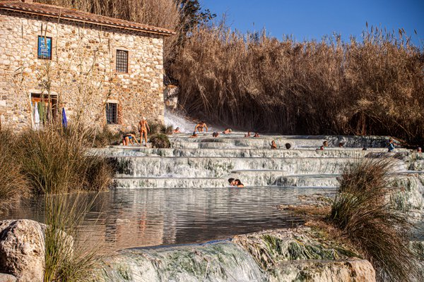 the waterfalls of the saturnia mill thumbnail