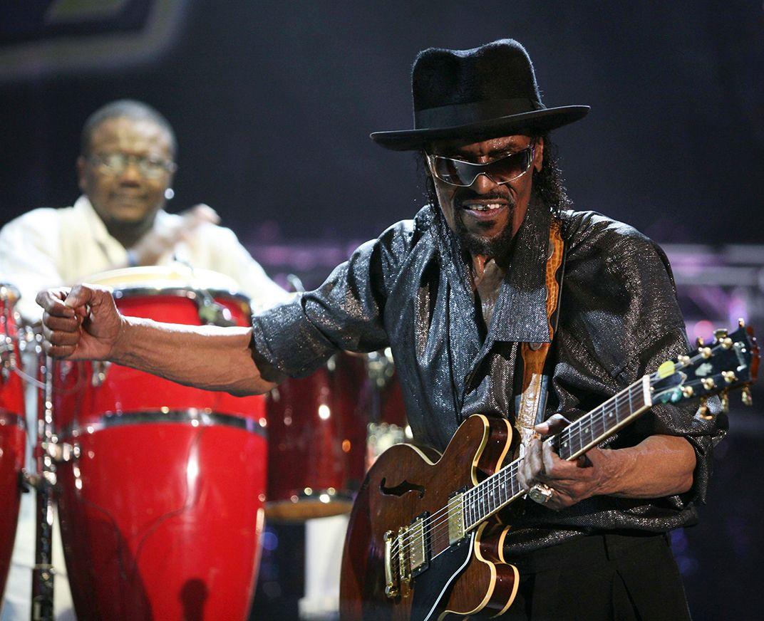 Chuck Brown's Guitar Drove the Musician's Persuasive