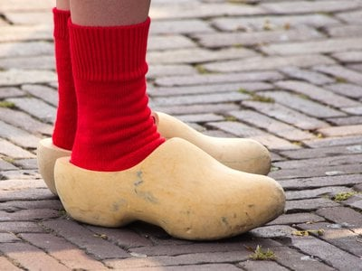 Before World War II, almost every Dutch village had a wooden shoe maker.