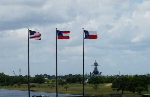 The Battleship Texas from the San Jacinto Monument  thumbnail