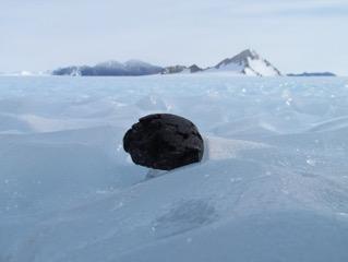 Iron Meteorites Play Hide-and-Seek Under Antarctic Ice