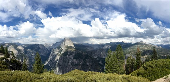 Half dome from Glacier point - 2016 thumbnail