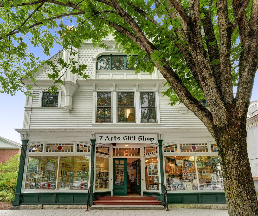 A Victorian Property Featured in an Iconic Norman Rockwell Painting Is Now on Sale